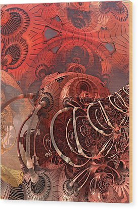 Asimov One Wood Print by Pam Blackstone