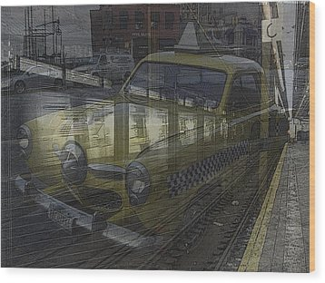Asphalt Series - 8 Wood Print