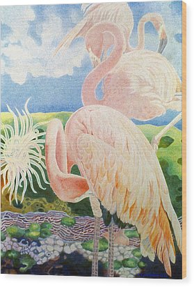 Astarte's Paradise IIi Wood Print by Kyra Belan
