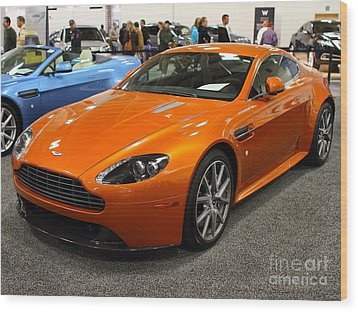 Aston Martin Db9 . 7d9625 Wood Print by Wingsdomain Art and Photography