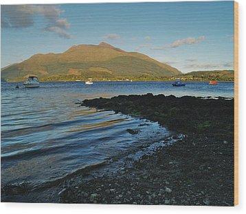 At Airds Bay Wood Print