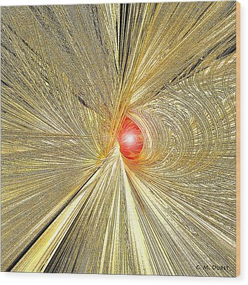 At The End Of The Tunnel Wood Print by Michael Durst