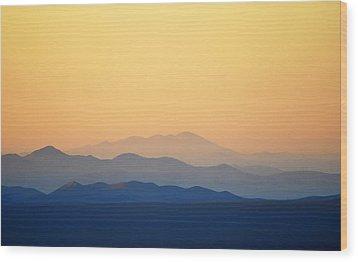Atacama Hills Wood Print by Jmalfarock