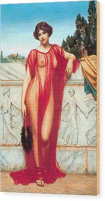 Athenais Wood Print by Sumit Mehndiratta