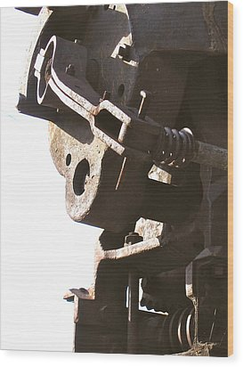 Wood Print featuring the photograph Atlas Coal Mine by Brian Sereda
