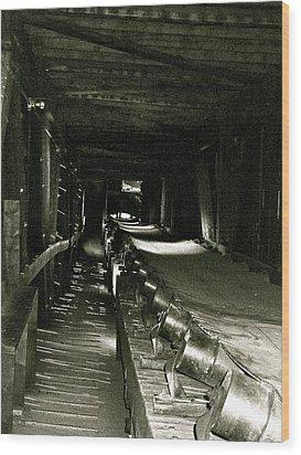 Wood Print featuring the photograph Atlas Coalmine by Brian Sereda
