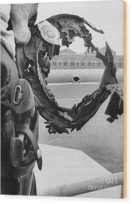 Attica Prison Riot, 1971 Wood Print by Granger