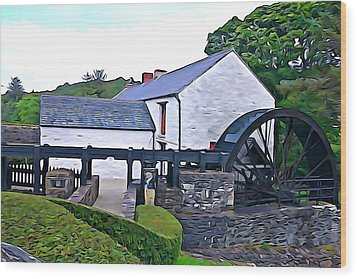 Wood Print featuring the photograph Auld Mill  by Charlie and Norma Brock