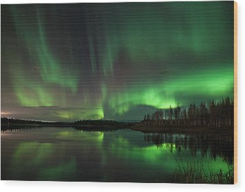Aurora Bliss Wood Print