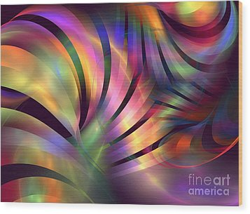 Aurora Borealis Wood Print by Kim Sy Ok