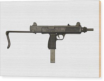 Austrian 9mm Steyr Mpi 81 Submachine Wood Print by Andrew Chittock
