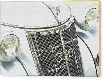 Auto Union - Audi Wood Print