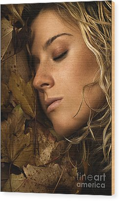 Autumn 04 Wood Print by Silvio Schoisswohl