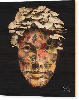 Autumn Wood Print by Adam Long