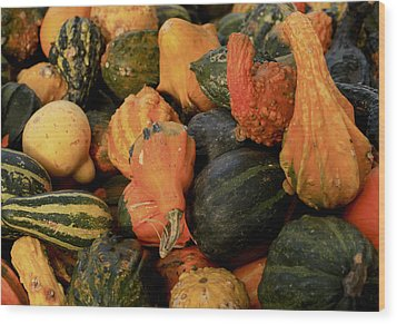 Wood Print featuring the photograph Autumn Bounty by Patrice Zinck