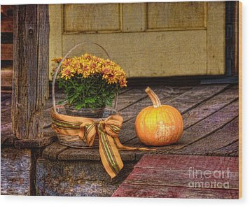 Autumn Wood Print by Lois Bryan