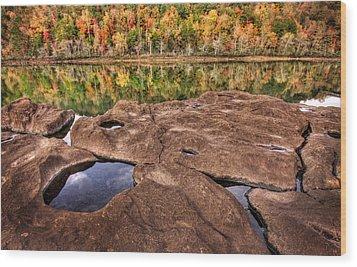 Autumn On The Savannah Wood Print by Brent Craft