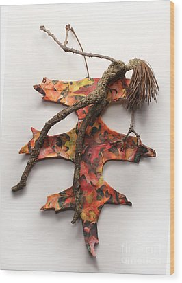 Autumn Release Wood Print by Adam Long