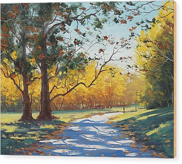 Autumn Splendor Wood Print by Graham Gercken