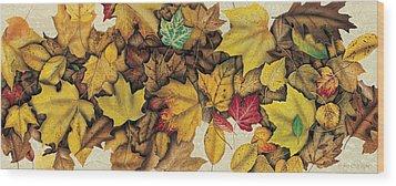 Autumn Splendor Wood Print by JQ Licensing
