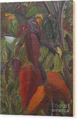 Autumn Splendor Wood Print by Art Hill Studios