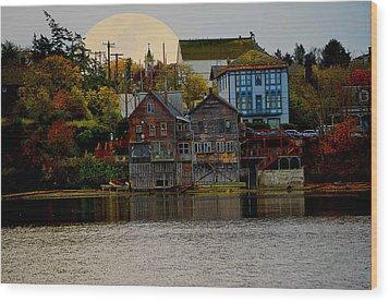 Autumn View Wood Print by Kurt Adams