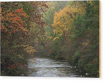 Autumn's Splendor Wood Print by TnBackroadsPhotos