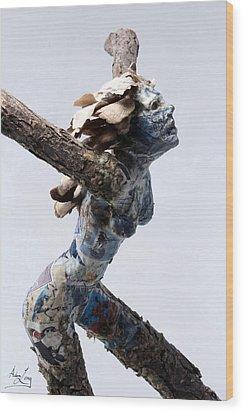 Avian Dreams Wood Print by Adam Long