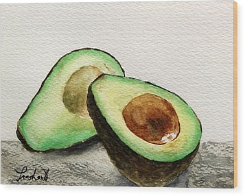 Avocado Wood Print by Prashant Shah