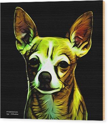 Aye Chihuahua  Wood Print by James Ahn