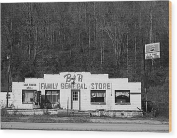 B And H Store Wood Print