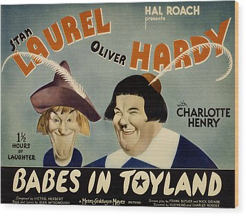 Babes In Toyland,from Left, Stan Wood Print by Everett