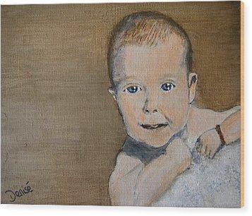 Baby Jake Wood Print