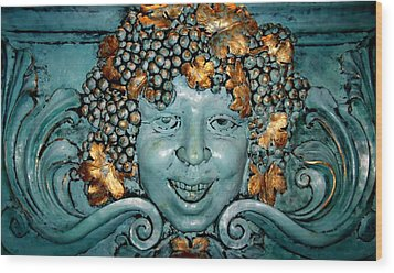 Bacchus Wood Print by Randall Weidner