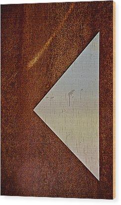 Back Up Wood Print by Odd Jeppesen