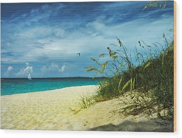 Wood Print featuring the photograph Bahamas Afternoon by Deborah Smith
