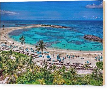 Wood Print featuring the photograph Bahamas. Nassau by Anna Rumiantseva