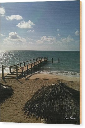 Bahamas Wood Print by Static Studios