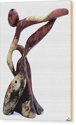 Bailando 3 Wood Print by Jorge Berlato