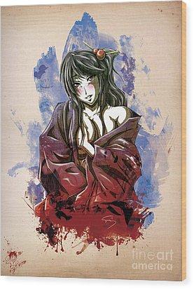 Baishun Wood Print by Tuan HollaBack