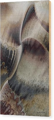 Wood Print featuring the digital art Balance by Kim Redd