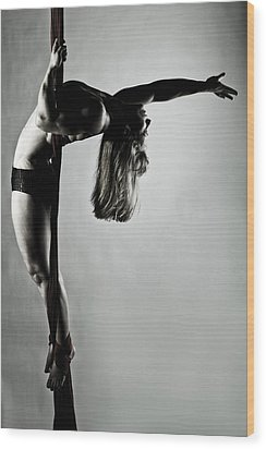 Balance Of Power 2012 Series 4 Wood Print by Monte Arnold