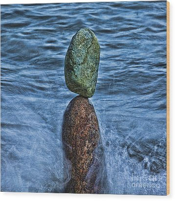 Balancing Wood Print