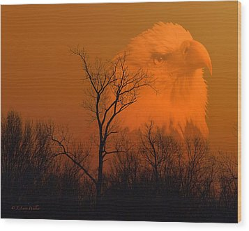 Bald Eagle Spirit Of Reelfoot Lake Wood Print