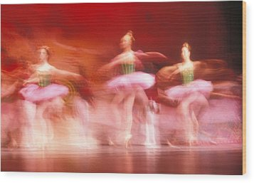 Ballet Dancers Wood Print by John Wong