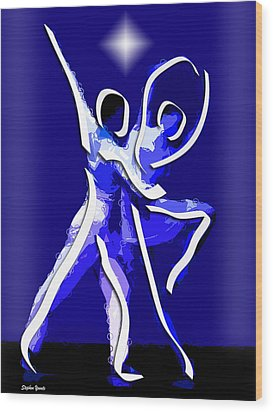 Ballet Wood Print by Stephen Younts