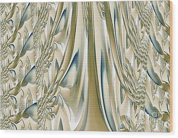 Ballroom Gown Wood Print by Maria Urso