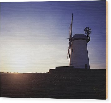 Ballycopeland Windmill, Co. Down Wood Print by The Irish Image Collection
