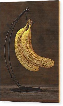 Banana Still Life Wood Print by Tom Mc Nemar