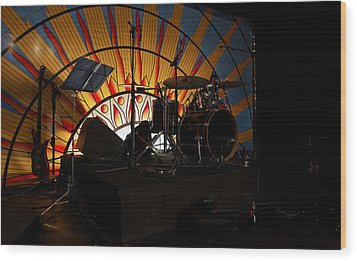 Band On The Run Wood Print by Kantilal Patel